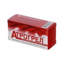АТРОГРЕЛ таблетки, п/плен. обол., по 75 мг №30 (10х3)
