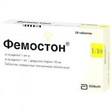 ФЕМОСТОН® комби-упак.: таб., п/плен. обол., №28 (1 мг №14+1 мг/10 мг №14)