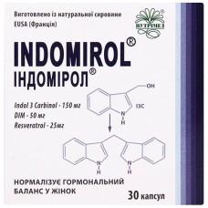 ИНДОМИРОЛ капсулы по 360 мг №30 (10х3)