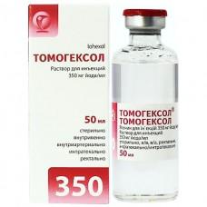 ТОМОГЕКСОЛ® раствор д/ин., 350 мг йода/мл по 50 мл во флак. №1