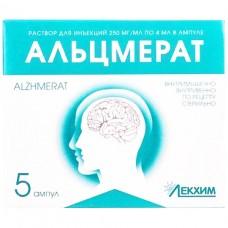 АЛЬЦМЕРАТ раствор д/ин., 250 мг/мл по 4 мл в амп. №5
