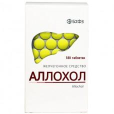 АЛЛОХОЛ таблетки, п/плен. обол., №180 в конт.