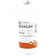 ДЕКАСАН® раствор 0,02 % по 200 мл в бутыл.