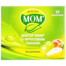 ДОКТОР МОМ® СО ВКУСОМ ФРУКТОВ леденцы №20 (4х5)