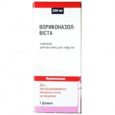 ВОРИКОНАЗОЛ-ВИСТА порошок для р-ра д/инф. по 200 мг во флак. №1