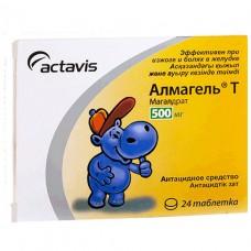 АЛМАГЕЛЬ® Т таблетки по 500 мг №24 (12х2)