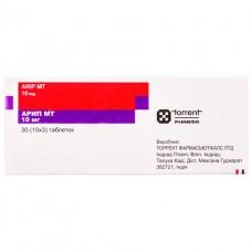 АРИП МТ таблетки по 10 мг №30 (10х3)