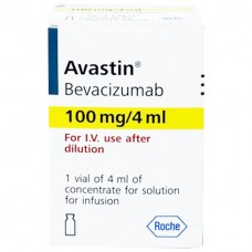 АВАСТИН® концентрат для р-ра д/инф. по 100 мг/4 мл во флак. №1