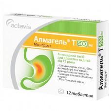 АЛМАГЕЛЬ® Т таблетки по 500 мг №12 (12х1)