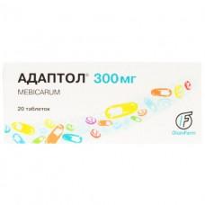 АДАПТОЛ® таблетки по 300 мг №20 (10х2)