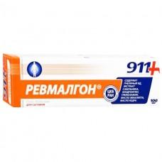 911 Ревмалгон гель-бальзам д/тела 100мл при болях в суст.