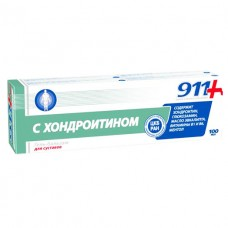 911 С Хондроитином гель-бальзам д/суст.100мл