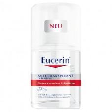 Eucerin 69614 Антипер.72ч п/повыш.потлив. 30мл
