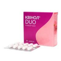 КВИНОЛ DUO капс.300 мг №30