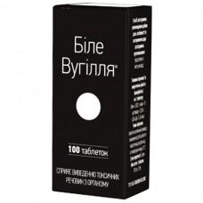 БЕЛЫЙ УГОЛЬ ТАБЛЕТКИ таблетки по 210 мг №100(10х10)