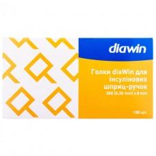 Иглы  diaWin для инсул.шприц-ручок 30G (100 шт.)