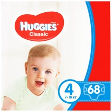 Памперсы Huggies Classic 4 Мега №68