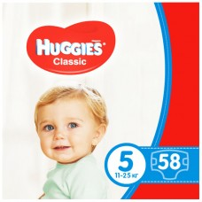 Памперсы Huggies Classic 5 Мега №58