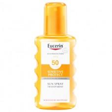 Eucerin 63853 Спрей дет.д/безоп.загара 200мл (SPF-50)