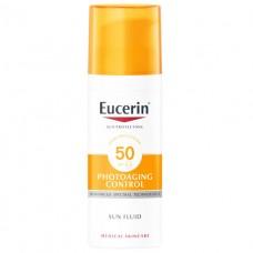 Eucerin 63840 Солнцезащитный флюид для чувствительной кожи лица SPF-50 50мл