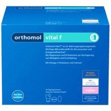 Ортомол Orthomol Vital F (питьевой) - лечение хронической усталости и эмоционального выгорания 30дн