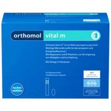 Ортомол Orthomol Vital M (питьевой) - лечение хронической усталости и эмоционального выгорания 30дн