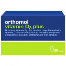 Ортомол Orthomol Vitamin D3 Plus - укрепление костного скелета и структуры костей (60 дней)