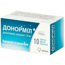 ДОНОРМИЛ таблетки шип. по 15 мг №10 в тубах
