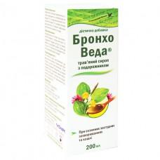 БРОНХО ВЕДА травяной сироп с Подорожником 200мл флакон