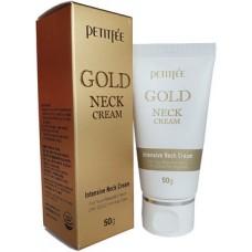 PETITFEE Крем д/шеи и декольте с золотом Gold Neck Cream