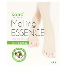 KOELF Маска для ног  Melting Essence Foot Pack (10шт)