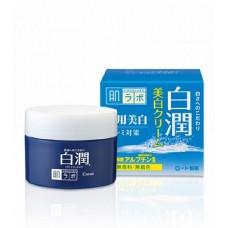 HADA LABO Крем отбеливающий с арбутином  Shirojun Medicated Whitening Cream 50g