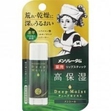 MENTHOLATUM Бальзам для губ гиалуроновый Deep Moist LipBalm Menthol 4.5g