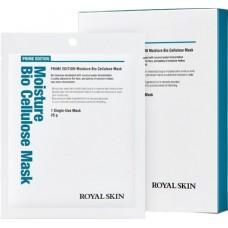 ROYAL SKIN Маска для лица  био-целлюлозная увл. Prime Edition Moisture Bio Cellulose Mask (5шт)