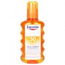 Eucerin 63915 Спрей солнцезащитный прозрачный SPF 30 200мл