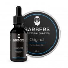 BARBERS PROFESSIONAL COSMETICS Набор для ухода за бородой Original 30мл+50мл