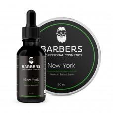 BARBERS PROFESSIONAL COSMETICS Набор для ухода за бородой New York 30мл+50мл
