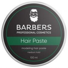 BARBERS PROFESSIONAL COSMETICS Паста для волос Barbers Modeling Hair Paste Medium Hold