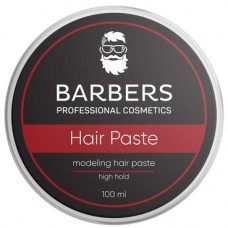 BARBERS PROFESSIONAL COSMETICS Паста для волос Barbers Modeling Hair Paste High Hold