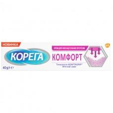 Корега Комфорт 40гр+контейнер для зубных протезов