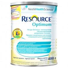 Nestle Resource Optimum смесь сухая ваниль 400г
