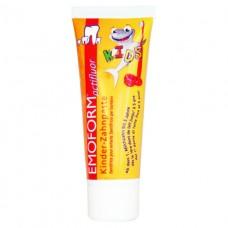 EMOFORM actifluor KIDS 0-5 Детская зубная паста 0-5 лет. С фторидом натрия и олова 75 мл