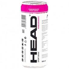 Head Pomegranate – Sport DRINK слабо газированный безалкогольный напиток 0,5 ЖБ