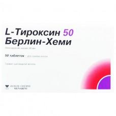 L-тироксин бх таб.50мкг #50
