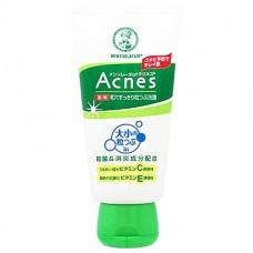 MENTHOLATUM Лечебный Крем-скраб для лица против акне Mentholatum Acnes Scrub in Wash 130g