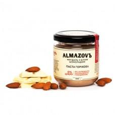 Паста ореховая Миндаль с белым шоколадом 200г ALMAZOVЪ