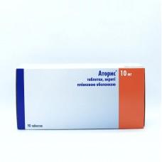 АТОРИС таблетки, п/плен. обол., по 10 мг №90 (10х9) (МЕДИКАРД)